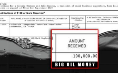Oil Money Flows In